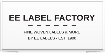 EE Label Factory woven labels